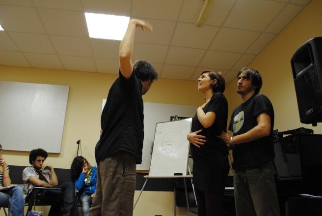 Scene da un seminario 1